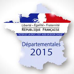 carte france électeur départementales 2015