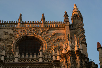 Detail of the Cathedral at Seville