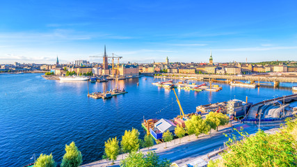 Stockholm von Monteliusvagen