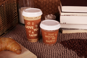 Valentine's Day´s couple of cups of coffee