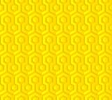 Soyut Geometrik Dijital Arka Plan poster