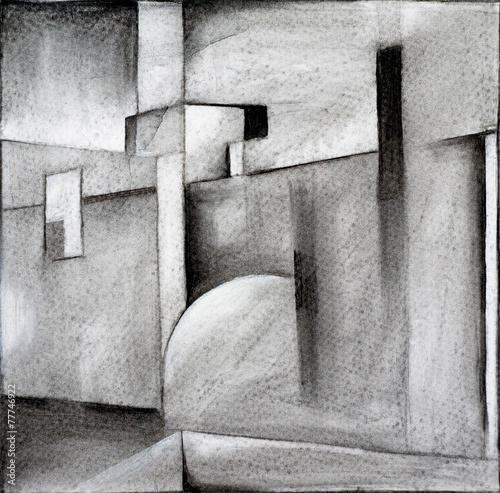 abstrakcyjny-rysunek-weglem