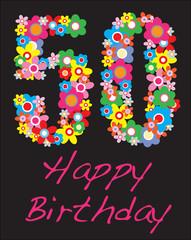 happy birthday fifty year