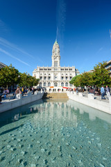 City hall of Porto, Portugal