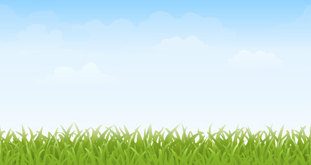 Grass and Sky — Seamless
