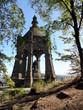 Leinwanddruck Bild - Porta Westfalica: Kaiser Wilhelm Denkmal