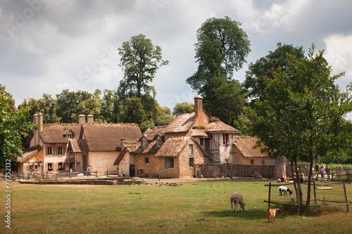 Leinwandbild Motiv Farm Marie Antoinette in the park of Versailles