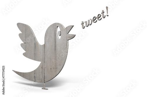 canvas print picture Tweet!