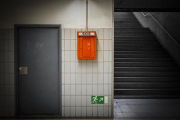 SOS Notruf Fluchtweg © Matthias Buehner