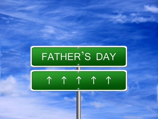 Fathers Day Background Sign