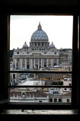 San Pietro Roma in cornice