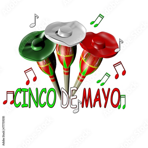 canvas print picture Cinco de Mayo