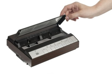 cassette answering machine