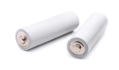 Pair of AA size batteries