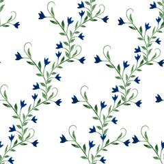 watercolor, pattern, flowers