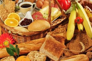 vielfältiges Frühstück