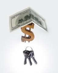 Сто долларов, ключи и дом