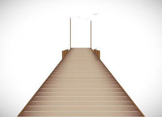 Dock Illustration