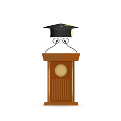 Graduate Speaker Illustration
