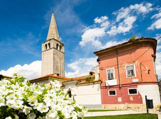 Euphrasian Basilica in Porec, Istria, Croatia