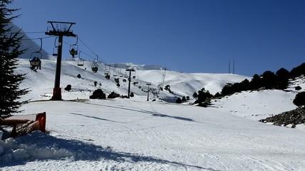 kayak bölgesinde ulaşım&telesiyej