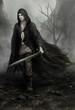 fantasy swordsman - 77770572