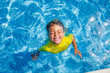 Boy in the pool - 77771910