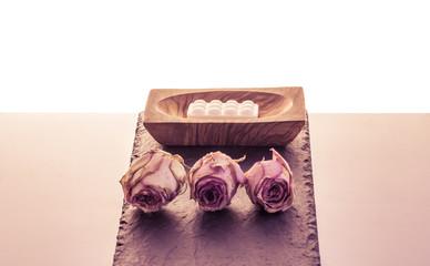 Rosen und Seife