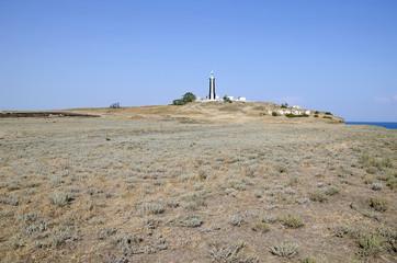 Kiz-aul lighthouse in the Crimea