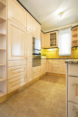 Classic furniture in the kitchen
