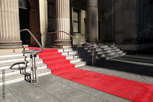 Leinwandbild Motiv Red carpet