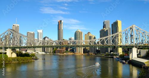 Foto op Canvas Australië Story Bridge