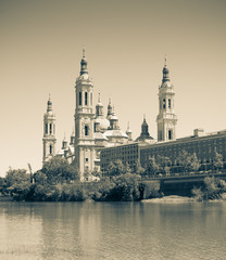 Cathedral of Our Lady of the Pillar. Zaragoza