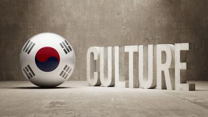 South Korea. Culture  Concept