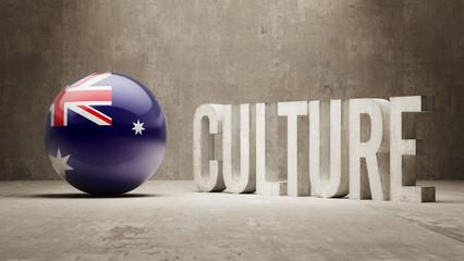 Australia. Culture  Concept