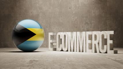 Bahamas. E-Commerce  Concept.