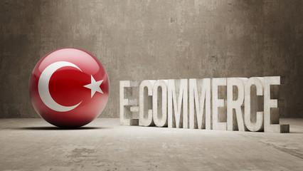Turkey. E-Commerce  Concept.