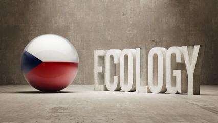 Czech Republic. Ecology  Concept.