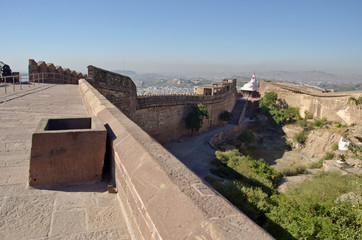 Mehrangarh fort in Jodphur blue city, Rajasthan, India