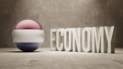 Netherlands. Economy  Concept.