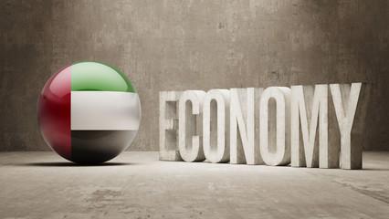 United Arab Emirates. Economy  Concept.