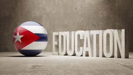 Cuba Education Concept