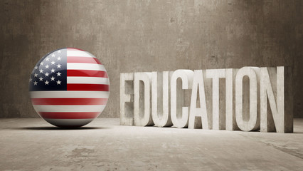 United States Education Concept