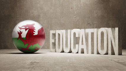 Wales Education Concept