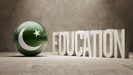 Pakistan Education Concept