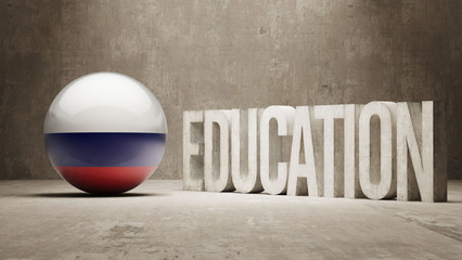 Russia Education Concept