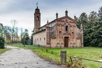 XVII century church in Italy
