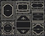 Ornate Vintage Frames - 77787902