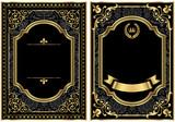 Gold Vintage Scroll Frames - 77787909