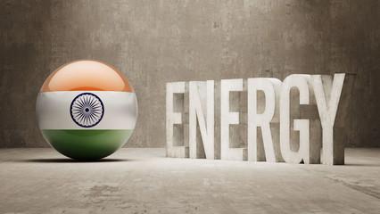 India. Energy  Concept.